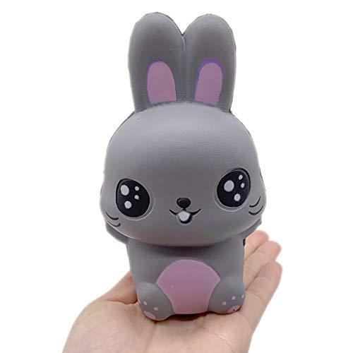 MSOO Squishy Cartoon Big Eye Bear Slow Rising Squeeze Phone Straps Ballchains Toys Gifts -