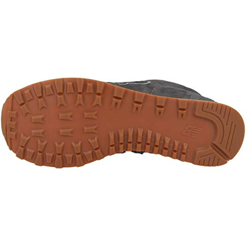 574v2 Uomo New Sneaker Balance Nero Grigio UwnqPT7