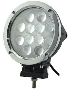 APHRODITE 2PCS 60W Black and White Color CREE LED Work Light 5100 Lumen Offroad JEEP Waterproof Lamp
