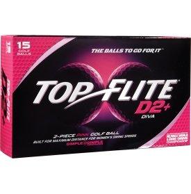 2014 Top Flite D2+ Diva Pink (15 Pack)