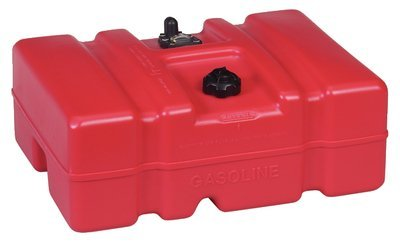 Moeller - Above Deck Fuel Tank, 12 Gallon Low Profile w/EPA Cap - 630013LP