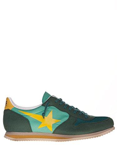 Golden Goose - Zapatillas de Lona para hombre verde Verde M