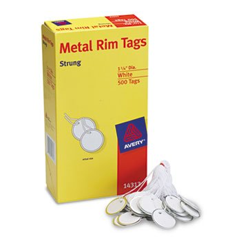 AVE14313 - Avery Metal Rim Marking Tags by Avery