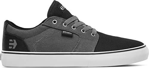- Etnies Men's Barge LS Skate Shoe, Grey/Black/Silver, 10 Medium US