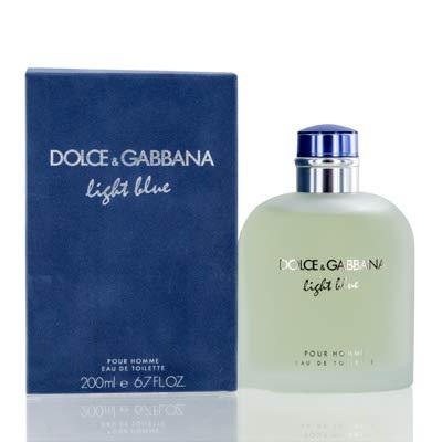 Dolce & Gabbana Light Blue Pour Homme Eau de Toilette, 6.7 f