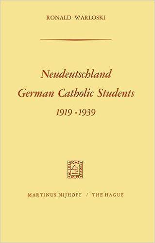 Livres téléchargeables gratuitement pour iphone Neudeutschland, German Catholic Students 1919-1939: German Catholic Students, 1919-1939 9401032572 in French PDF