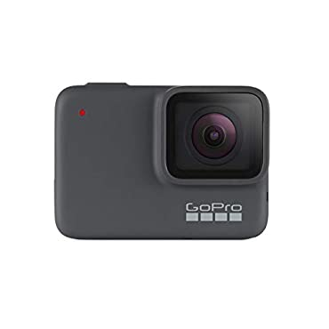 GoPro HERO7 Silver Waterproof Digital Action Camera with Touch Screen 4K HD Video 10MP Photos
