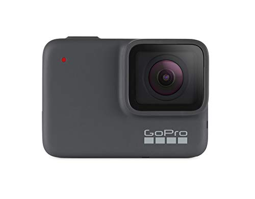 GoPro HERO7 Silver — Waterproof Digital Action Camera with Touch Screen 4K HD Video 10MP Photos -