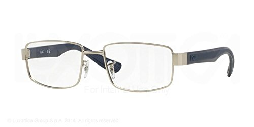 Ray-Ban Eyeglasses RX6319 2538 Matte Silver 53 17 - Ban 53 Ray 17
