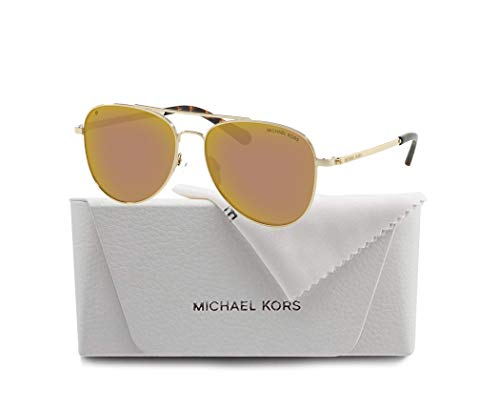 Michael Kors MK1045 SAN DIEGO Aviator Sunglasses For Women+FREE Complimentary Eyewear Care Kit