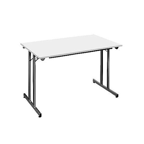 Mesa plegable • 120 x 80 cm • Bisley KT1208: Amazon.es: Oficina y ...