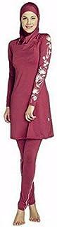 ZHRUI Costume da Bagno Costume da Bagno Tuta da Bagno Costume da Bagno all'aperto, Nero, XL (Colore : Come Mostrato, Dimensione : Taglia Unica)