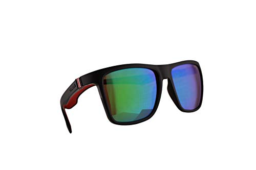 Carrera 5047/S Sunglasses Matte Brown w/Green Mirror Lens 56mm 4INZ9 CA5047/S 5047S (Carrera Sunglasses Men 56)