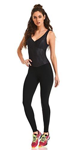 5cf4b9d0516 Cajubrasil Brazilian Workout Jumpsuit - Knockout Jumpsuit Black