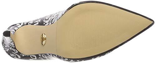 000 white Tacco Con Buffalo black Scarpe Multicolore Amica Donna nwp8pxqa0P