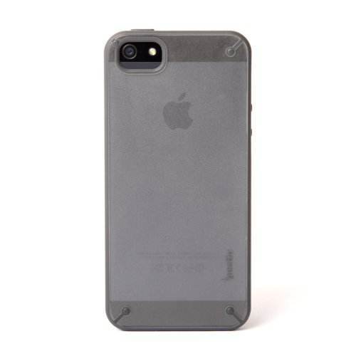 Apple-iPhone-55SSE-Case-Poetic-Atmosphere-Series-Lightweight-Slim-Fit-Slim-Fit-Tranparent-Hybrid-Case-for-Apple-iPhone-5iPhone-5S2013-iPhone-SE-2016-ClearGray-3-Year-Manufacturer-Warranty-From-Poetic