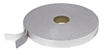 "C.R. LAURENCE FS222 CRL Gray 2"" Adhesive Back Felt Tape"