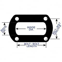 AP Exhaust Products 9245 Exhaust Pipe Connector Gasket