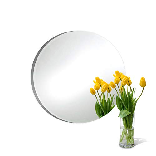 Round Mirror Centerpiece for Wedding Decorations and Dining Table Centerpieces (14 Inch, Pack of 10)                by Better crafts (Image #1)