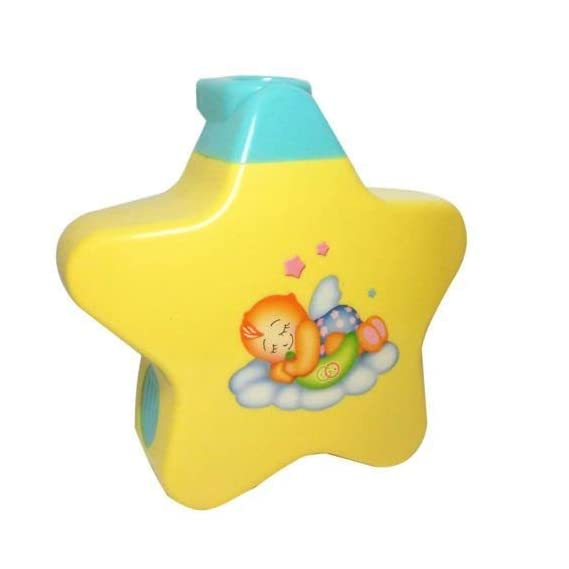 RVM Toys Sleeping Star Projector with Light Show and Music for Newborn (Multicolor)