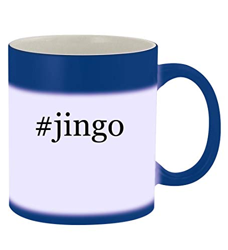 #jingo - 11oz Hashtag Magic Color Changing Mug, Blue -