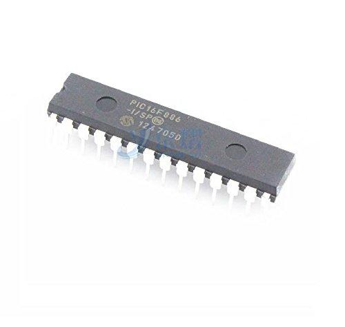 Exiron 5PCS PIC16F886-I/SP PIC16F886 MICROCHIP DIP-28 MCU IC NEW