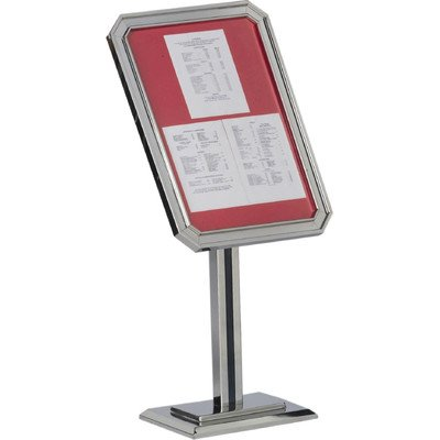 single-pedestal-ornamental-sign-and-poster-stand-base-and-frame-color-chrome