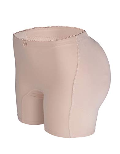 FLORATA Women's Padded Seamless Butt Hip Enhancer Panties Boy ()