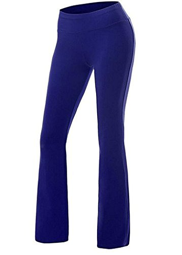 New Ornament Womens Comfy Stretch Pull-On Pants Yoga Workout Trousers,S(US0-2),Blue (Jeans 2 Sims)