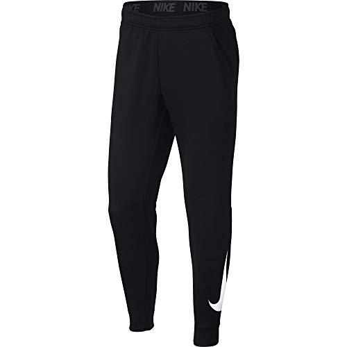 - Nike Mens Tapered Therma Training Sweatpants Black/White 932257-010 Size Medium