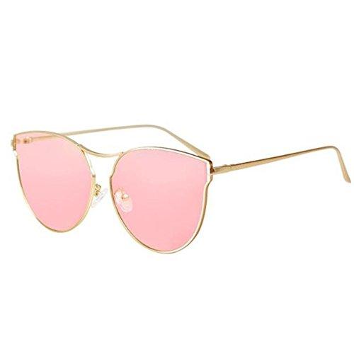 DT Cara Mujer Sol Sol de Retro Color 1 Redonda Gafas Cara Gafas Mujer de qrwRX4rZt