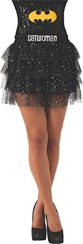 Rubie's Women's DC Comics Superhero Style Skirt With Sequins, Multicolor, Standard -