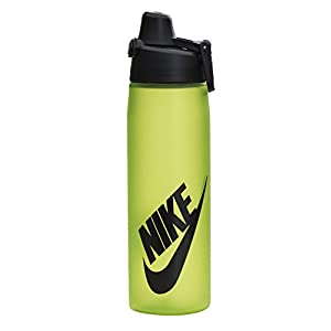 Nike Core Hydroflow Futura Water Bottle 24oz (Volt/Black