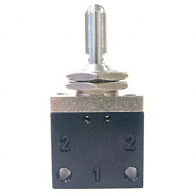 Pneumadyne Inc Toggle Valve 3-Pos 1/8 in NPT