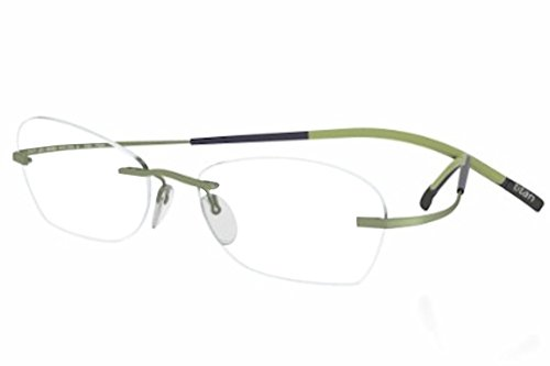 Silhouette Eyeglasses Titan Min Art Icon Chassis 7581 6053 Optical Frame 19x160