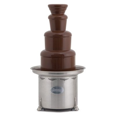 Sephra 34 Inch Stainless Steel Commercial Chocolate Fountain
