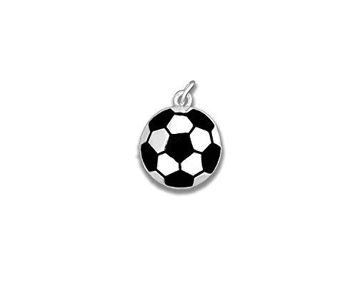 Soccer Ball Charms (Wholesale Pack - 25 Charms)
