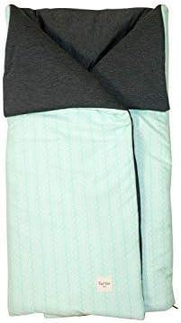 Fundas BCN® - S10/7001 - Saco de algodón universal para cuco/capazo. Green Bay.