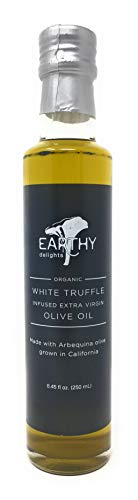 (Earthy Delights Organic White Truffle Infused Extra Virgin Olive Oil, 8.45oz)