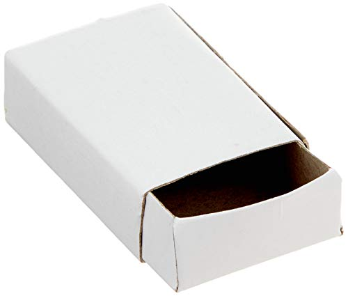Baker Ross E5324 Craft Matchboxes, 52mm x 35mm, Brown 30 Pack