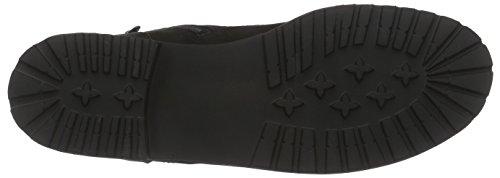 Ganter FRIDA, Weite F - botas de caño bajo de cuero mujer negro - Schwarz (schwarz 0100)