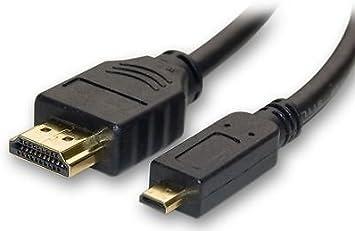 Blackberry Z10, Q10, Micro HDMI a HDMI cable para conectar a televisión HDTV 3d 1080 P 4 K: Amazon.es: Electrónica