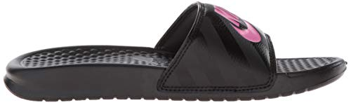 Para Mujer Jdi black Wmns Nike Benassi vivid Chanclas Black Pink wqaAXTxI