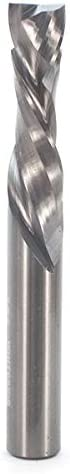 Whiteside Router Bits UD4122 Up//Down Cut Spiral Bit with Solid Carbide Compression and 3//8-Inch Cutting Diameter