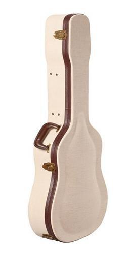 Gator Cases Journeyman Series Deluxe Wood Case for Acoustic Guitars (GW-JM-DREAD) ()