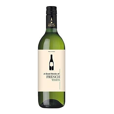 Vino blanco en frances