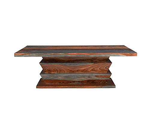 Wood & Style Area Table Brown Decor Comfy Living Furniture Deluxe Premium Collection