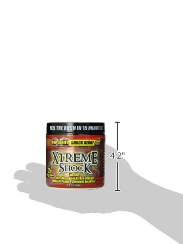 XTREME SHOCK BERRY 45/SRV, 8.8oz