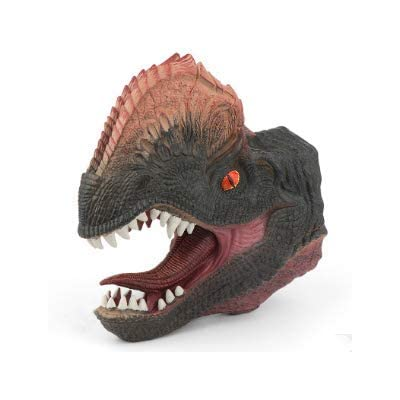 Wooer Rubber Dino Claw Dinosaur Hand Puppet Toys for Kids Adults Cosplay Gloves (C): Toys & Games