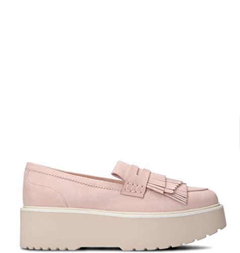 Women's Leather Loafers Pink HXW3550AF10CR0M413 Hogan 1naqwdppC